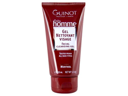 Men's Facial cleansing gel - Tres Homme Gel Nettoyant Visage